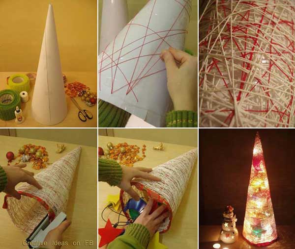 Top 36 simple and affordable diy christmas decorations for Easy diy home decorations