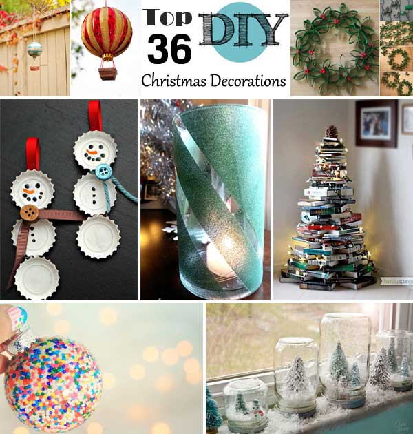Home Christmas Top 36 Simple And Affordable Diy Decorations