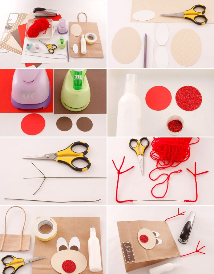 christmas-gift-wrap-ideas-handmade-gift-bag-paper-reindeer-face