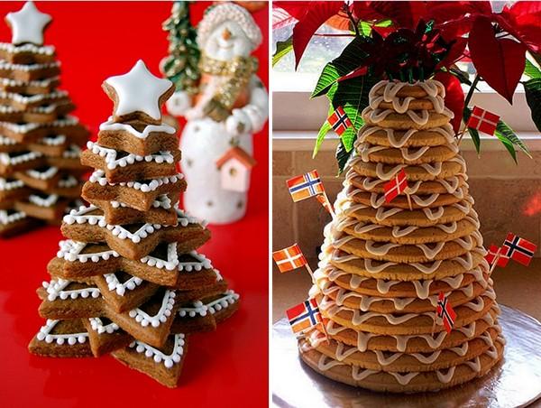 cookie-edible-christmas-trees-frosting-stars-kids-fun