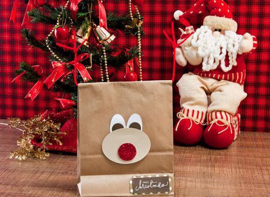 Diy Christmas Gift Wrap Ideas Handmade Bows Gift Bags
