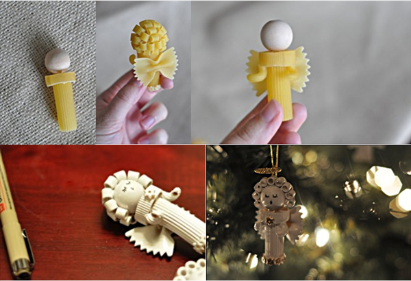 diy-christmas-tree-ornaments-pasta-angels-crafts
