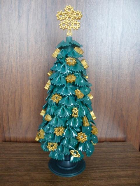 diy-tabletop-tree-christmas-gold-ornaments-ribbons