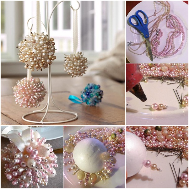 Homemade christmas tree ornaments 15 easy diy ideas and for Home made christmas tree decorations
