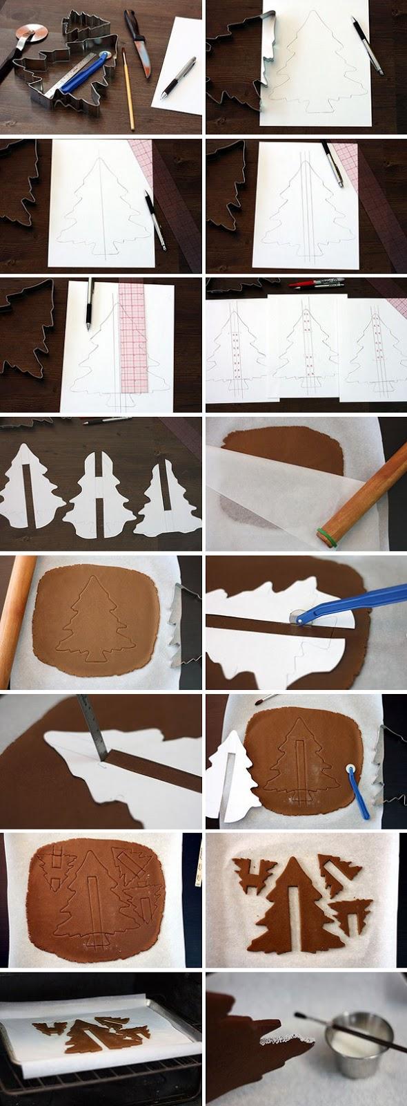 homemade-edible-christmas-tree-idea-tutorial-gingerbread-dough