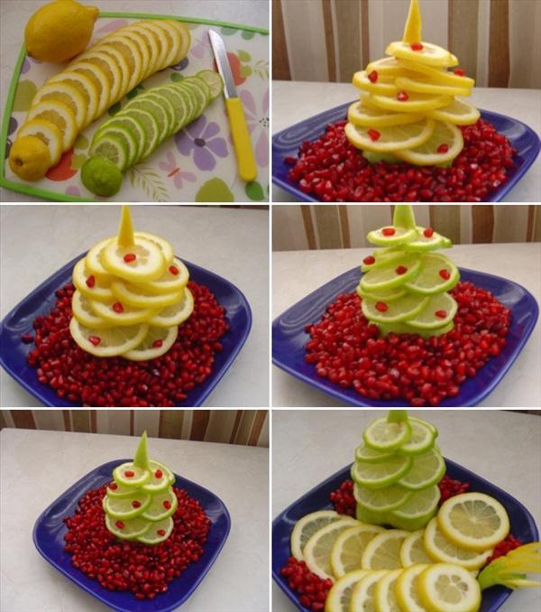 homemade-edible-christmas-trees-citrus-fruits-lemons-limes