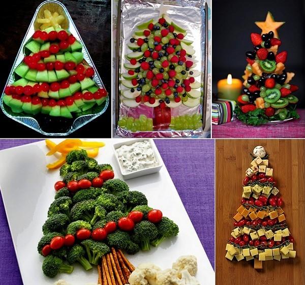 homemade-edible-christmas-trees-vegetables-fruits-ideas