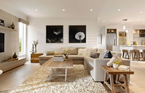 Five decorating ideas for living room for Dizain home
