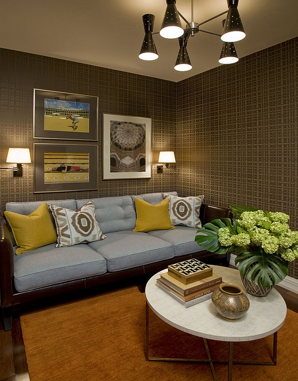 among the leading interior color trends in 2014 outlining be silver