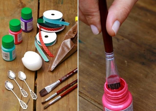 diy easter eggs gift idea kids adults materials
