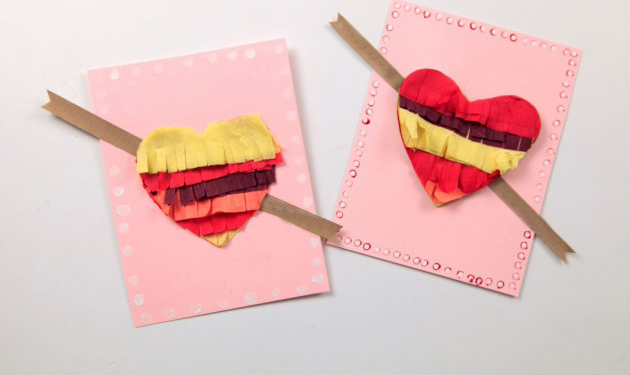 Valentine Crafts With Doilies