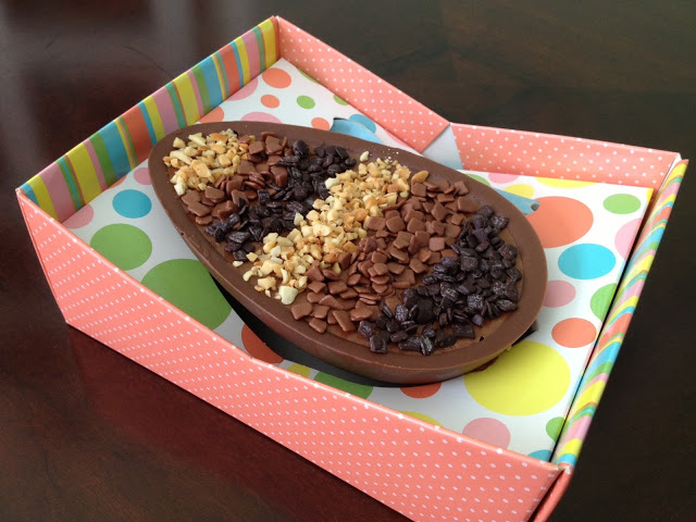easter treat recipe chocolate eggs different nuts stuffing