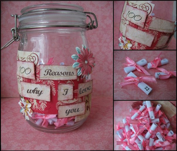 Homemade valentine s day gifts for her 9 ideas for your for Gift for valentine day for her