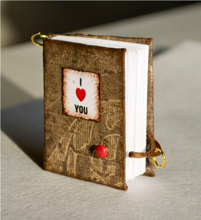 homemade valentines day gifts for men diy mini book