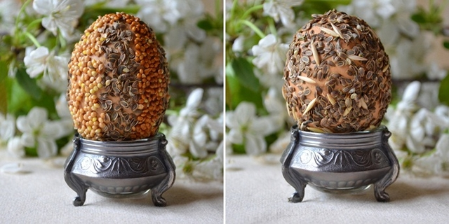 ideas decorating easter eggs naturally eco-friendly