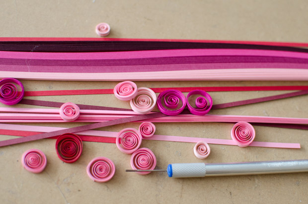 Valentine's Day craft idea for kids - A fun paper quilling ...
