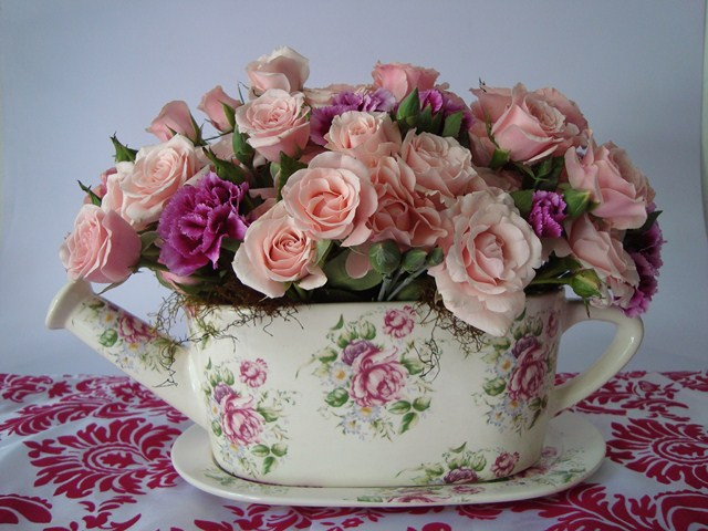 valentines day vintage romantic look ideas home pink roses