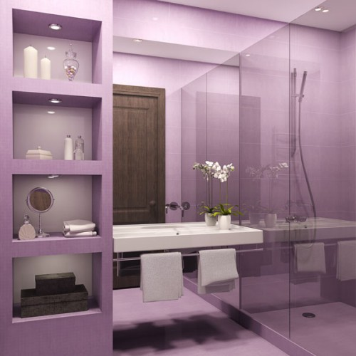 Gallery Bathroom in pink-4