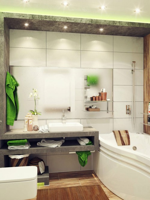 Gallery design ideas for bathroom-1