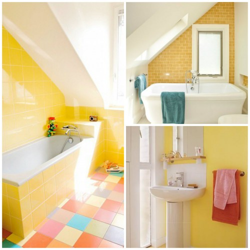 Colors-for-the-bathroom-yellow