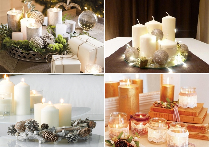 40 Ideas For Christmas Candles On Table