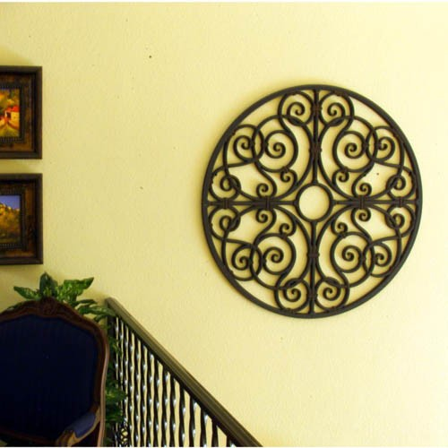 Iron Works Wall Decor Adds Symmetry To Your Dwelling