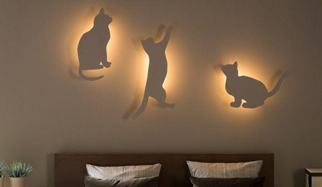 Diy Bedroom Interesting Decor Lighting Bedroom With Cat