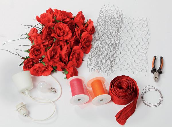 diy-lampshade-supplies-silk-roses-wire-mesh