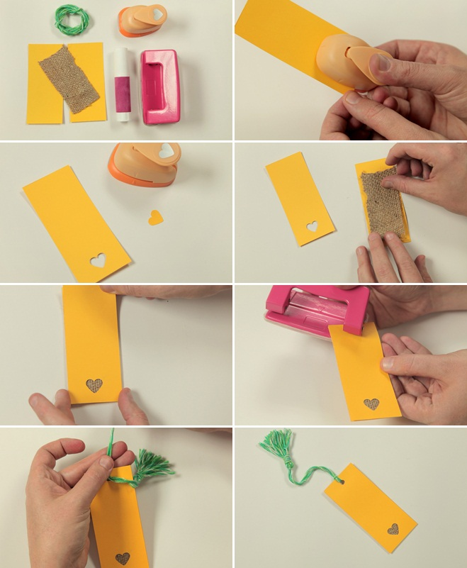 Valentine s day crafts for kids easy ideas for sweet for Easy bookmark ideas