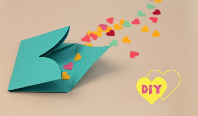 valentines day projects kids easy ideas handmade gift classmates hearts confetti