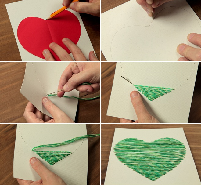 Valentine s day crafts for kids easy ideas for sweet for Card ideas for valentines day
