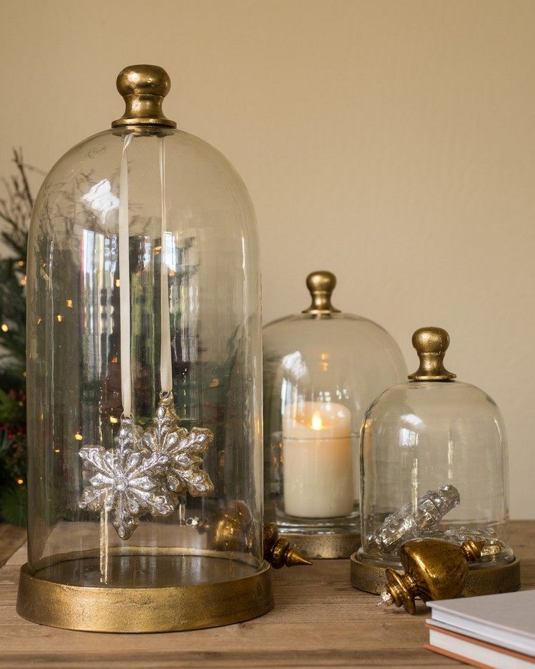 cloche decorate for christmas 18 nice ideas diy masters. Black Bedroom Furniture Sets. Home Design Ideas