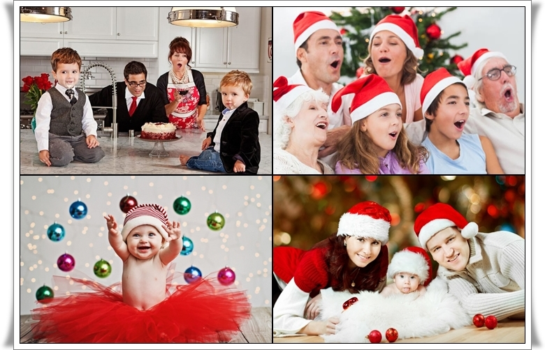 great christmas family photo ideas - The best Christmas photo ideas – tips for a great family photo
