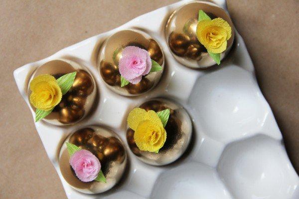 creative-easter-craft-ideas-diy-paper-flower-golden-easter-eggs-img008