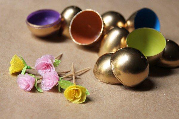 creative-easter-craft-ideas-diy-paper-flower-golden-easter-eggs-img010