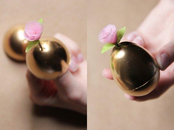 creative-easter-craft-ideas-diy-paper-flower-golden-easter-eggs-img011