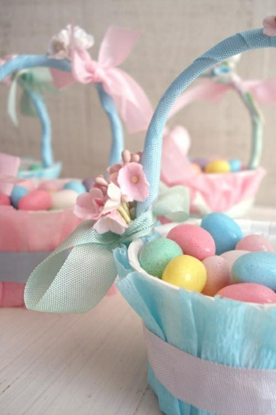 Easter basket ideas for a colorful holiday and festive mood diy easter basket ideas for a colorful holiday and negle Images
