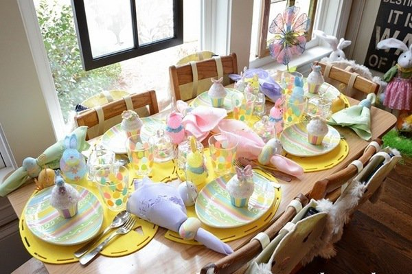 Cheap Easter Decorating Ideas Table Setting Photo Album Get Your With Table  Setting Ideas.