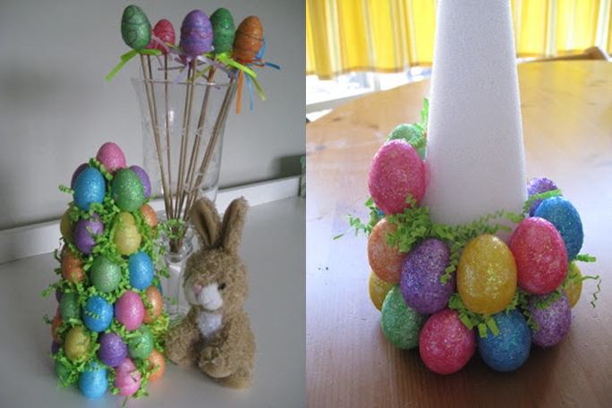 Homemade christmas tree ornaments 15 easy diy ideas and How to make an easter egg tree