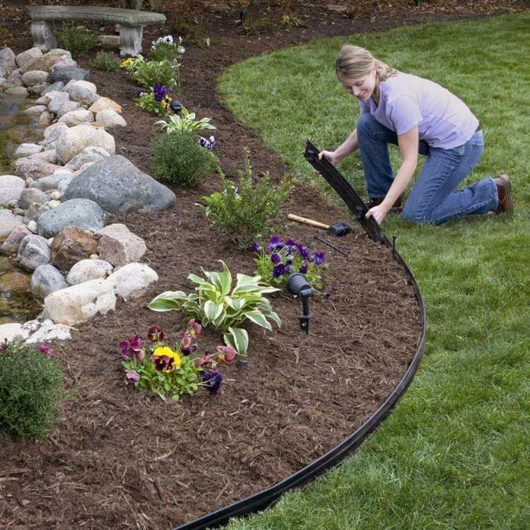 make-rasenkante-in-the-garden-a-selection-of-materials-img011