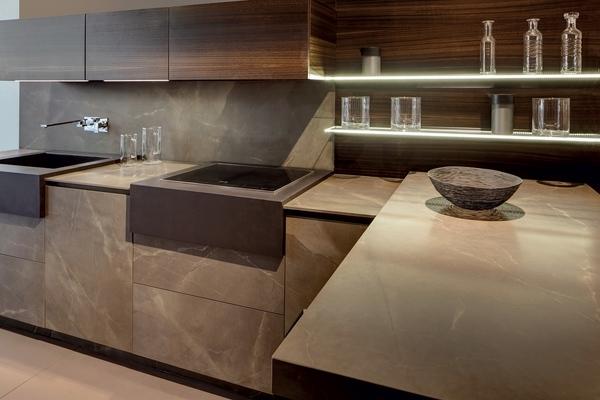 Storage utensil counter top cabinet