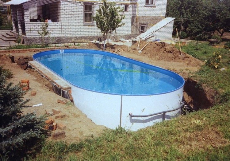 swimming pool in your own garden - so easily achieved the dream pool,
