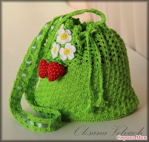 Crochet Free Pattern Bag Hat And Skirt Set For Little Girls Diy