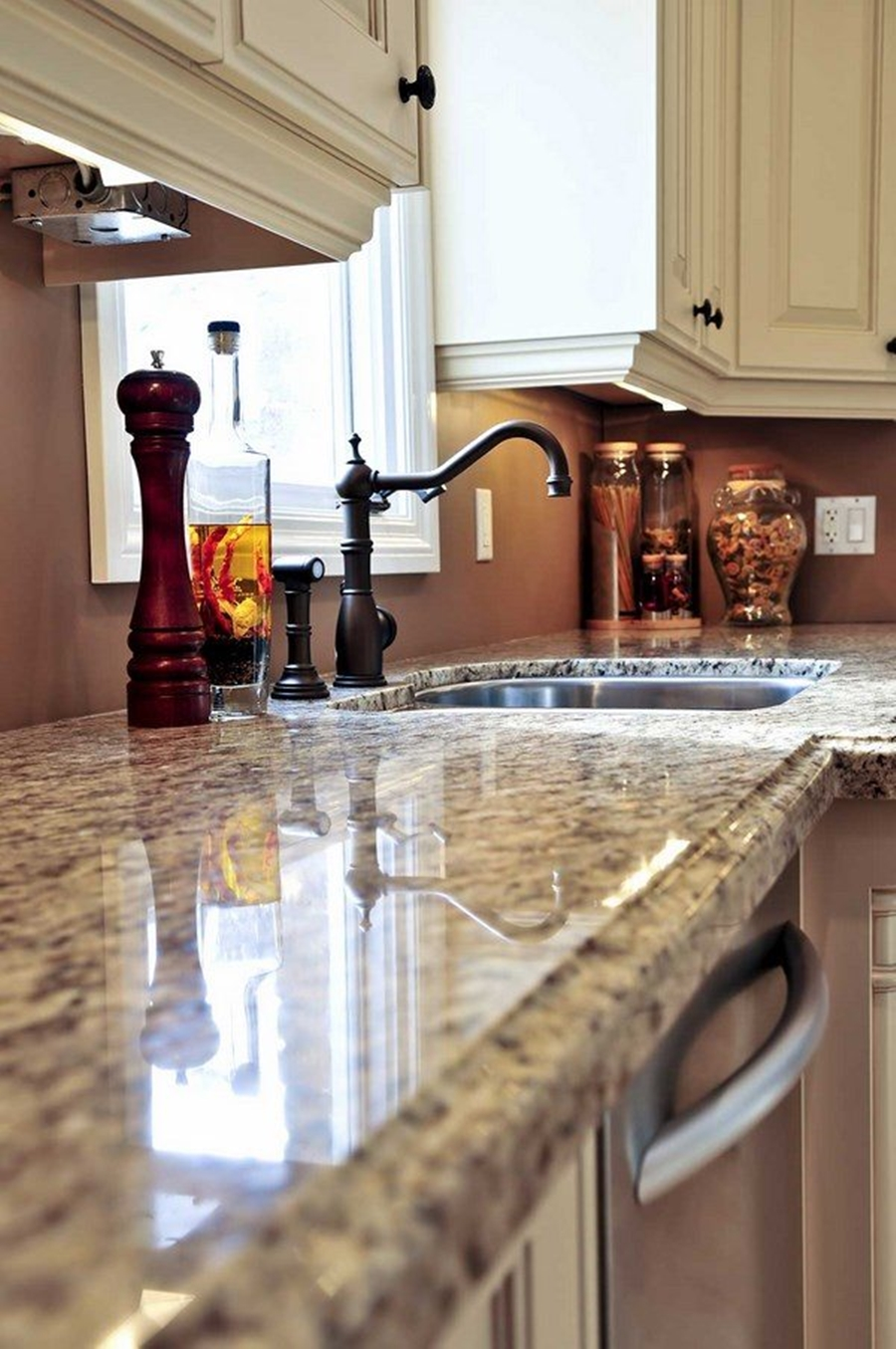 Water Marble Countertop : How to remove hard water stains from granite countertops